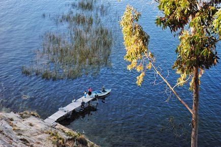 Bolivie - Lac Titicaca - Isla del Sol
