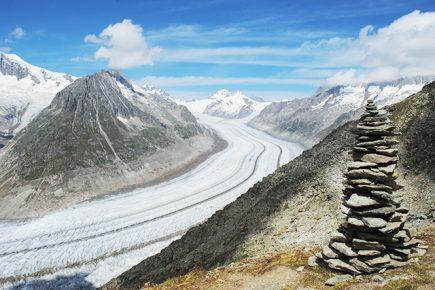 Suisse - Glacier d'Alesch