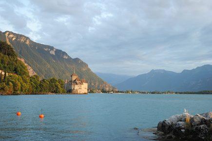 Suisse - Château de Montreux